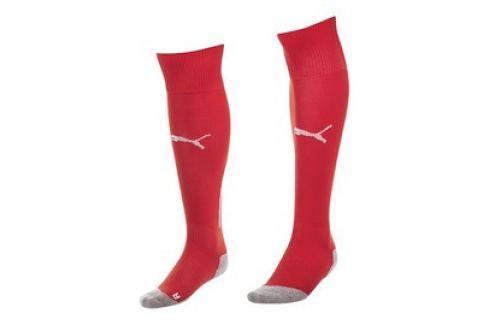 Pánské Ponožky Puma King Socks red-white Pánské ponožky