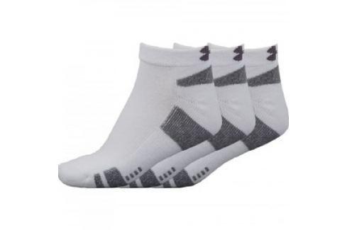 Ponožky Under Armour Heatgear 3 páry bílé Pánské ponožky