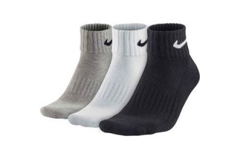 Pánské ponožky Nike Value Cotton Quarter 3 páry Pánské ponožky