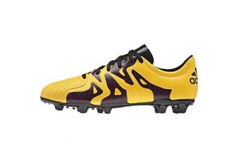 Dětské kopačky adidas X 15.3 FG/AG J Leather Dětská obuv