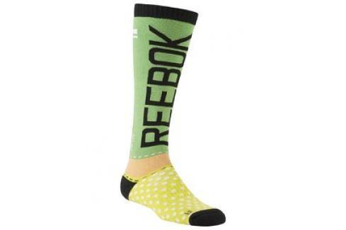 Dámské Ponožky Reebok CF W Engin Knee Sock Dámské ponožky