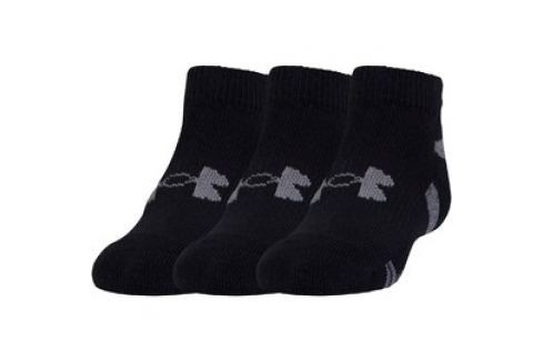 Ponožky UA HeatGear 3Pk Lo Cut Pánské ponožky