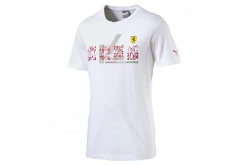 Pánské tričko Puma SF Graphic Tee 1 white Pánská trička