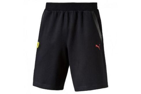 Pánské kraťasy Puma Ferrari SF Sweat Bermudas black Pánské šortky