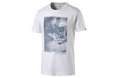 Pánské tričko Puma Archive Photo white Pánská trička