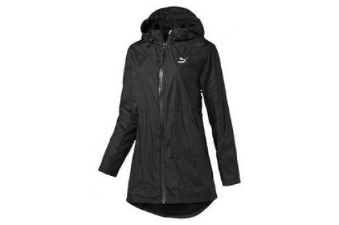 Dámská bunda Puma Long Windrunner black Dámské bundy a kabáty
