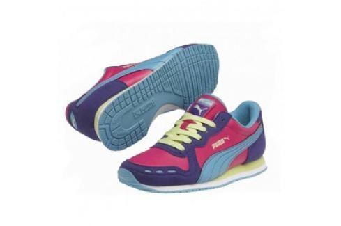 Dětské boty Puma Cabana Racer SL Jr team violet Dětská obuv