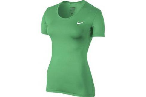 Dámské tričko Nike PRO COOL SHORT SLEEVE Dámská trička