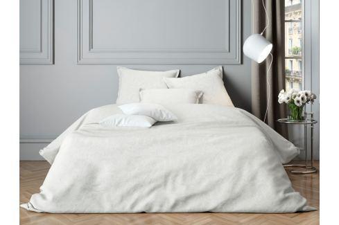 Mistral home Mistral Home povlečení bavlněný satén Paisley White 140x200/70x90cm Ložní povlečení