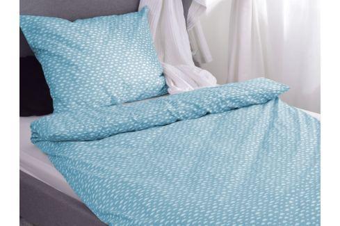 Homeville Homeville povlečení 100% bavlna Aliisa modrá 140x200cm+70x90cm Ložní povlečení