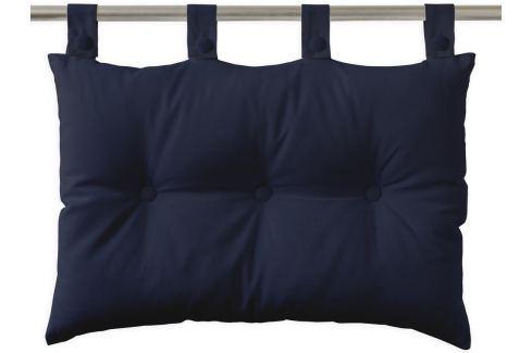 TODAY Závěsný polštář k posteli 70x45 cm Ciel d'orage - tm. modrá Dekorační polštáře