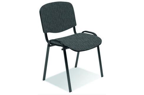 Konferenční židle ISO šedočerná Halmar KANCELÁŘSKÉ ŽIDLE A KŘESLA