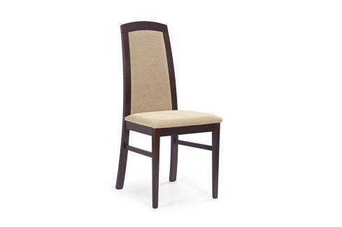 Jídelní židle DOMINIK tmavý ořech Halmar JÍDELNÍ ŽIDLE