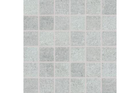 Mozaika Rako Cemento šedá 30x30 cm, mat, rektifikovaná DDM06661.1 Obklady a dlažby