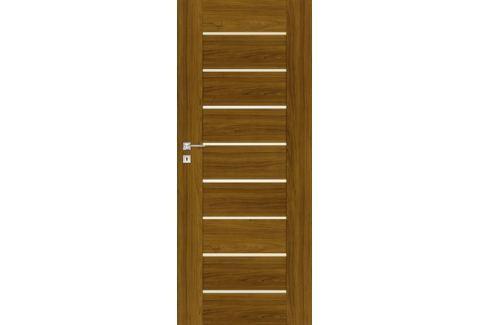 Interiérové dveře Naturel Perma pravé 60 cm ořech karamelový PERMAOK60P Dveře