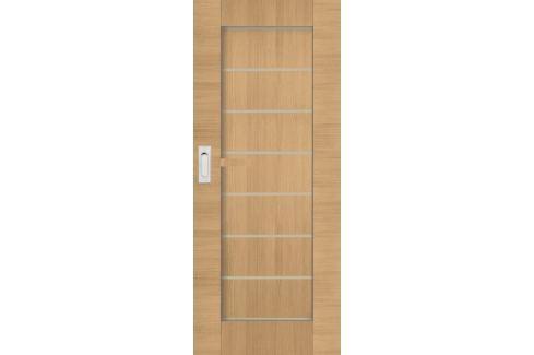Interiérové dveře Naturel Perma posuvné 70 cm jilm posuvné PERMAJ70PO Dveře